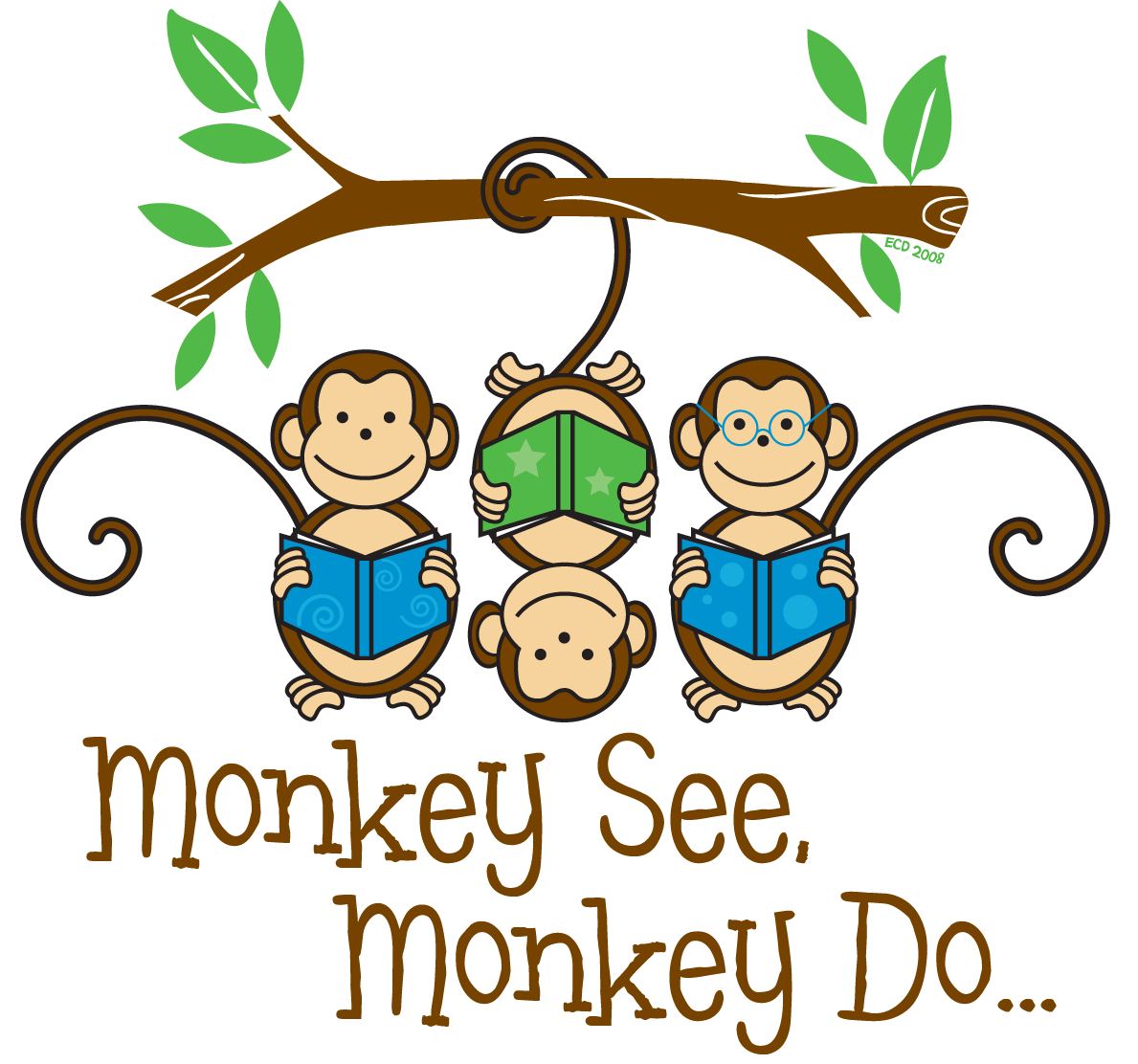 an analysis of the well known saying monkey see monkey do