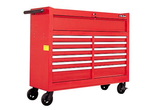 "53"" 13-Drawer Roll-Wagon Fully Shelf-Closing Ball Bearing Slides"