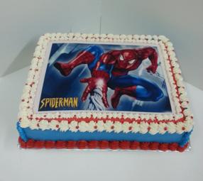 Edible Cake Images Trinidad : Spiderman Edible Image Cake TastyKakeKreations ...