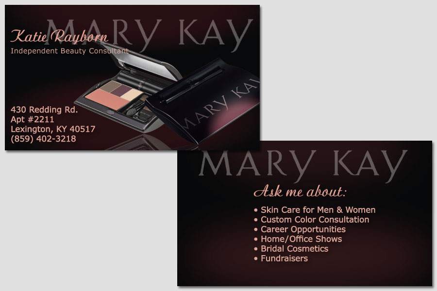 Pics s Mary Kay Business Cards