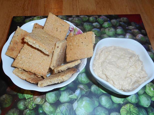 Wholegrain Mustard Tahini Bites