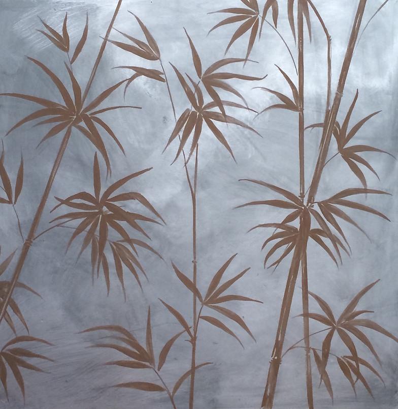 Decorazione di interni, pittura su parete e complementi di arredo