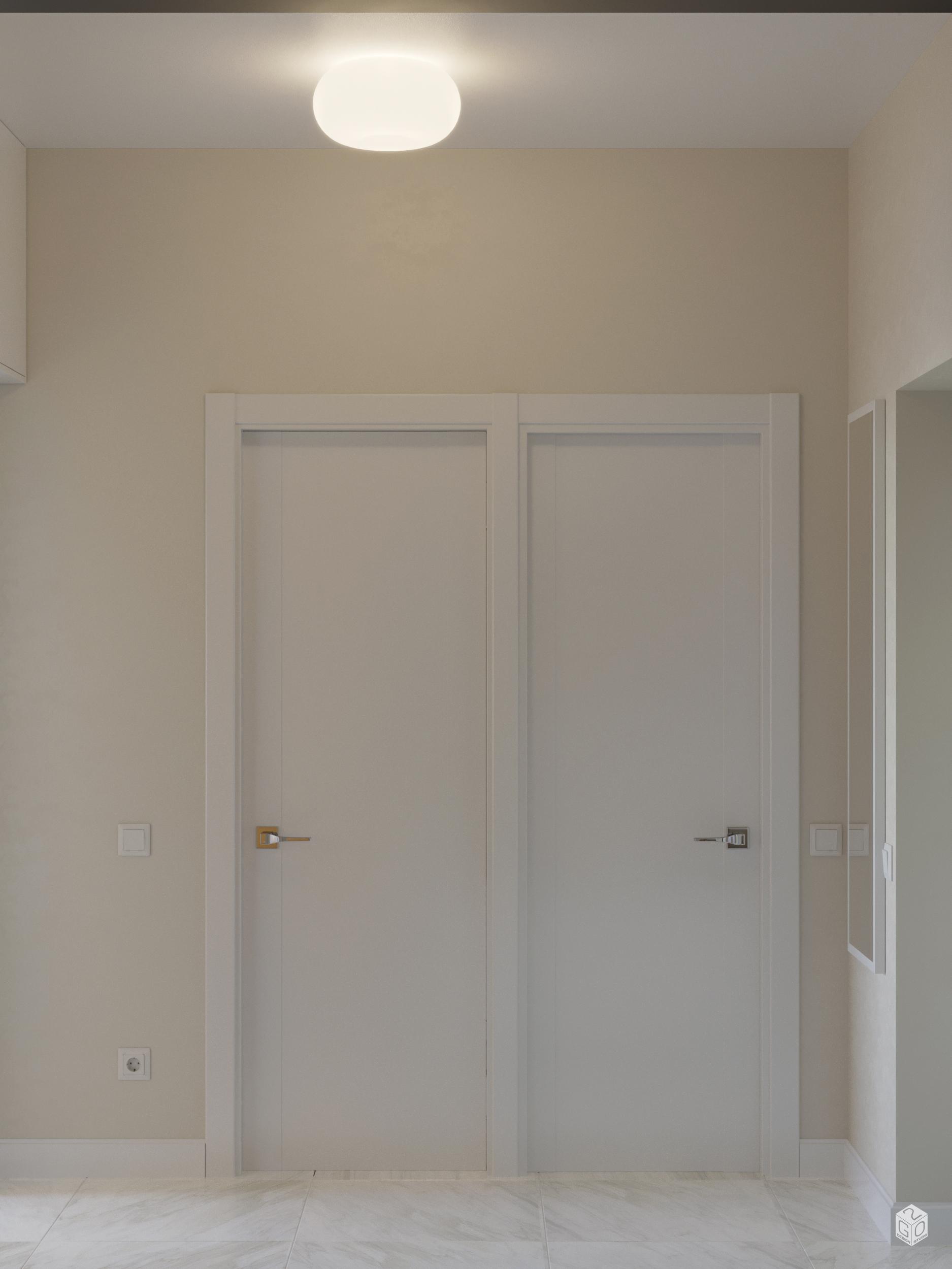 Визуализация дизайн проекта квартиры