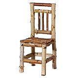 Chaise En Bouleau