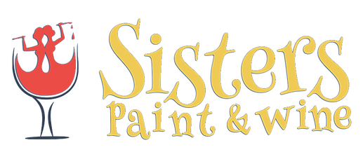 Sisters paint and wine painting parties plus is now us for Paint and wine albuquerque