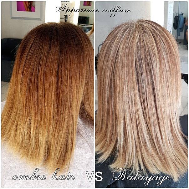 ombre hair VS balayage
