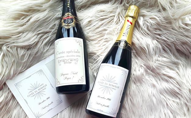 Bekannt DIY : mon étiquette de bouteille de vin personnalisée | My sweet  RH92