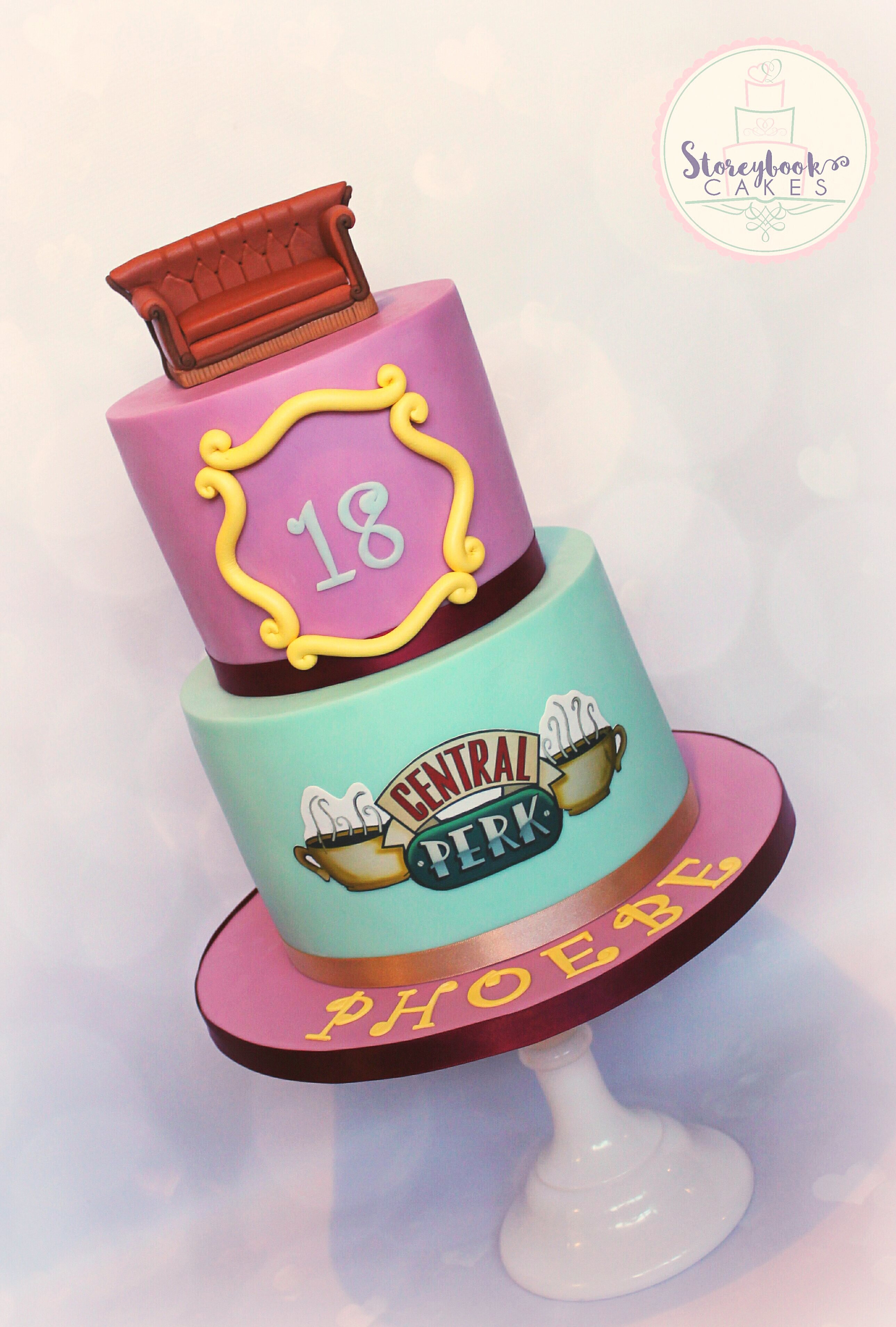 Cake Tv Show Us : Storeybook Wedding Cakes Worksop Friends Cake