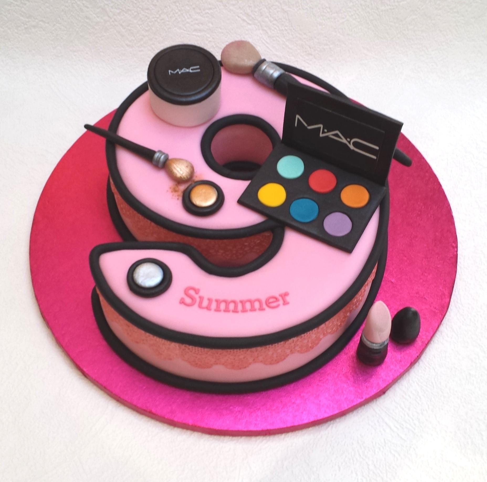 Ideas For  Yr Old Girl Birthday Cakes