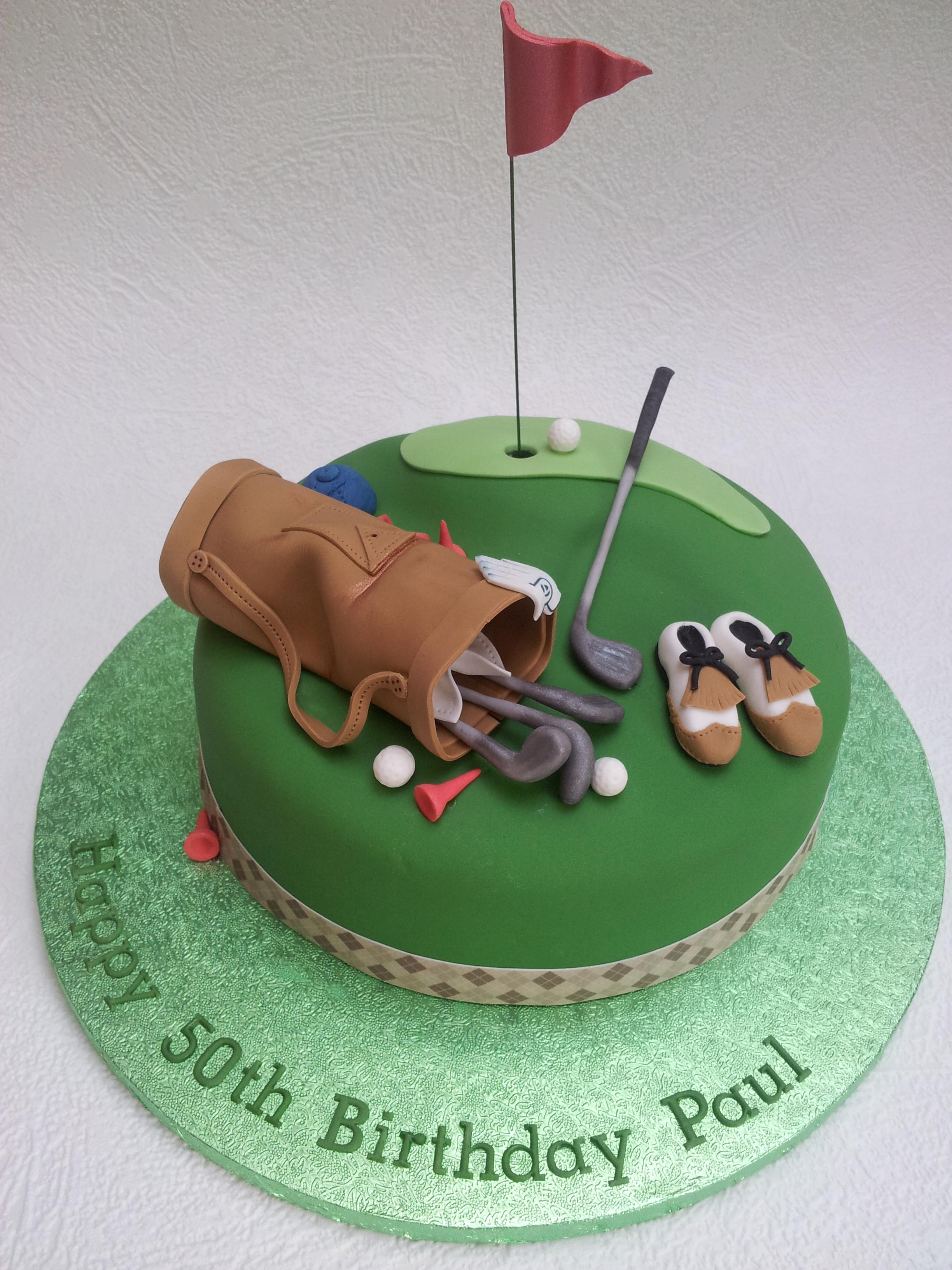 Golf Themed Cake Decorations