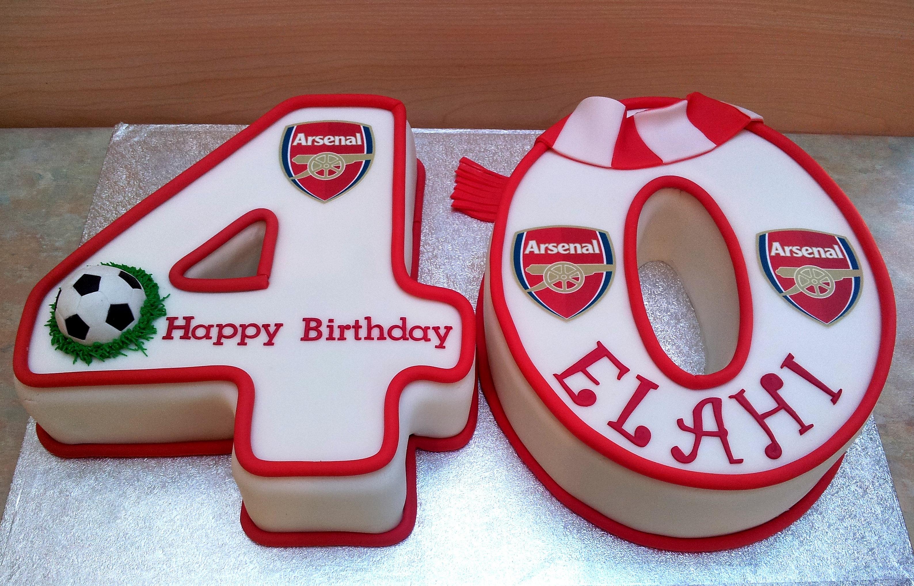 Arsenal Cake Ideas