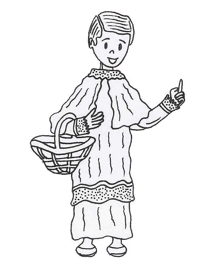 Dibujos para colorear de Semana Santa y Pascua. Dibujos