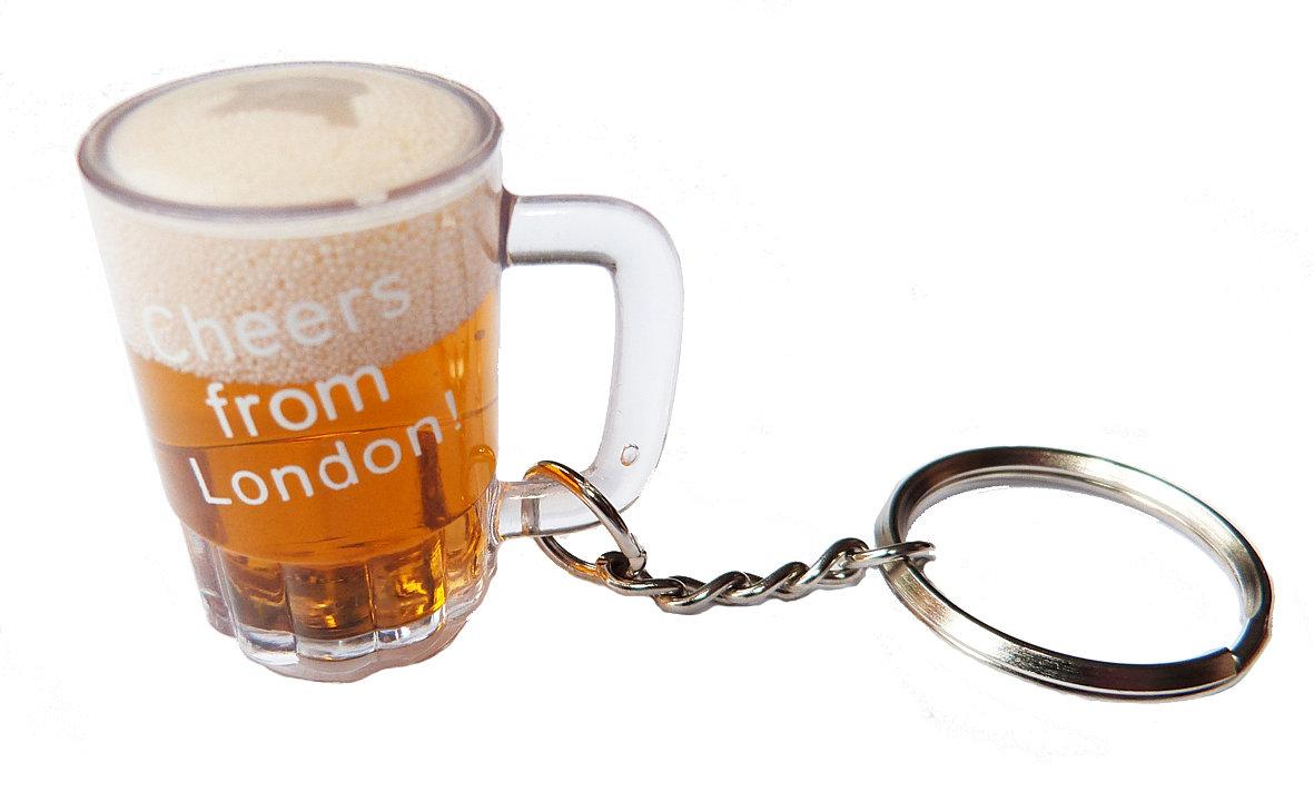 Capital Souvenirs | Beer keyring