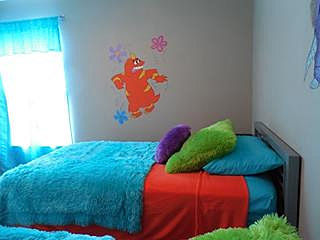 rentourdisneyhome monsters inc bedroom