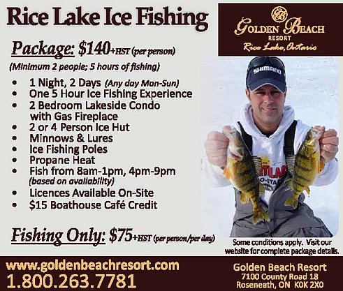 rice lake ice fishing regulations