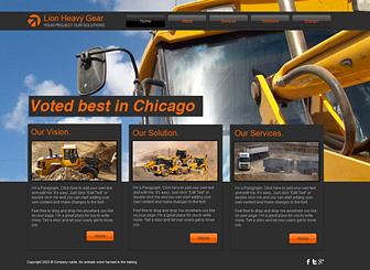 Schwerlasttransporte Template - Gehen Sie mit Ihrem Bauunternehmen und dieser originellen Homepage-Vorlage online. Bewerben Sie Ihre Leistungen und Angebote mit Texten und eigenen Bildern. Erstellen Sie jetzt Ihre persönliche Website, die Ihr Unternehmen angemessen repräsentiert!