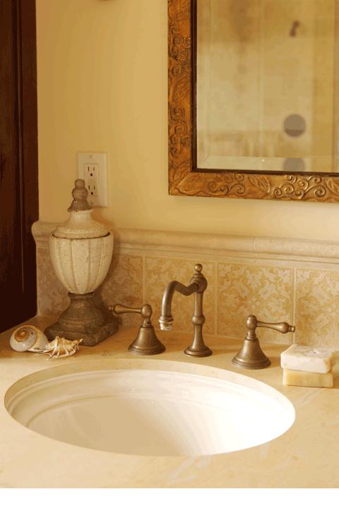 Peter karoll designs professional interior design for Master bath accessories