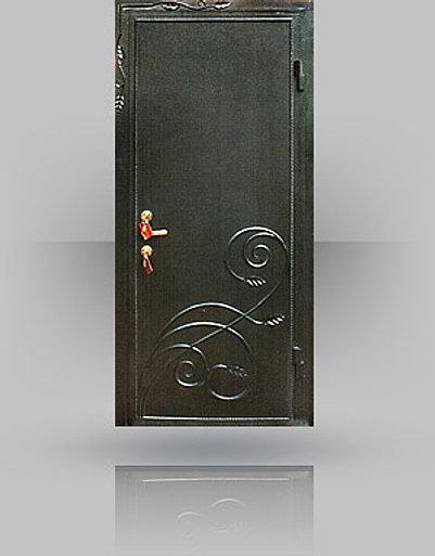 металлические входные двери с антивандальным напылением