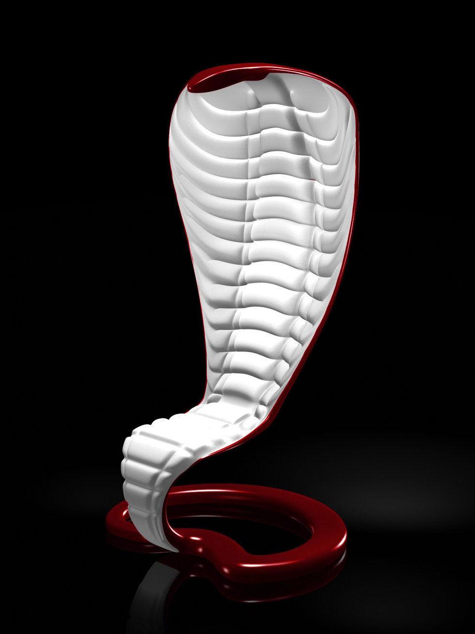 Cobra armchair
