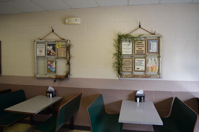 Denver Weaver's Cafe Seating