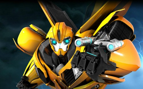Transformers animated bumblebee wallpaper