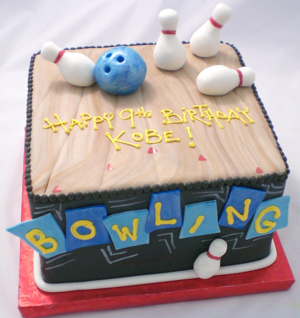 Bowling Lane Cake Ideas