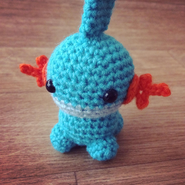 mudkip  pokemon  258 gobou   amigurumi pattern review