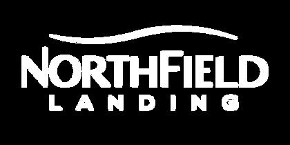 NorthField Logo - All White (Dark Backgr
