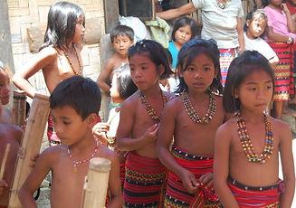 Tulgao children in traditional dress.jpe