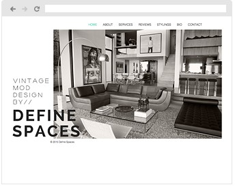 DEFINE SPACES -Vintage Modern Design
