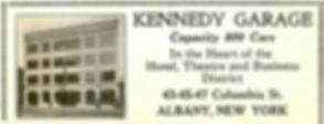 Kennedy Garage 1933