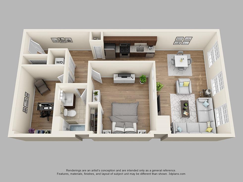 Thetilleylofts 1 bedroom den for One bedroom apartment with den