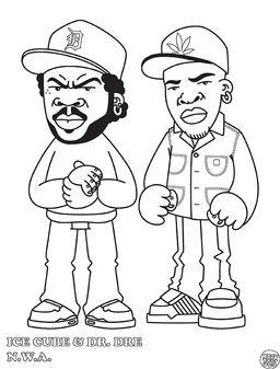 hip hop coloring book - Hip Hop Coloring Book