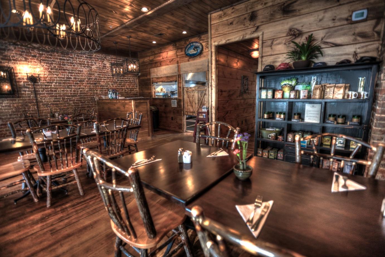 Bryson City Cork and Bean Bryson Citys Best Restaurant Cork and Bean Dining Room - Best Dining Room