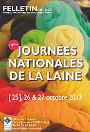 Felletin - Creuse - Journées nationales de la laine