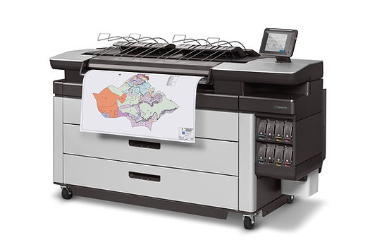 HP PageWide XL 6000 MFP_Left Scan CADcol