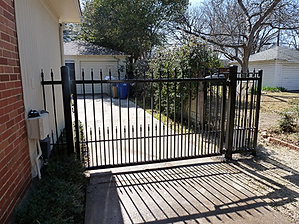Driveway Gates Houston Lone Legacy Automatic Gates