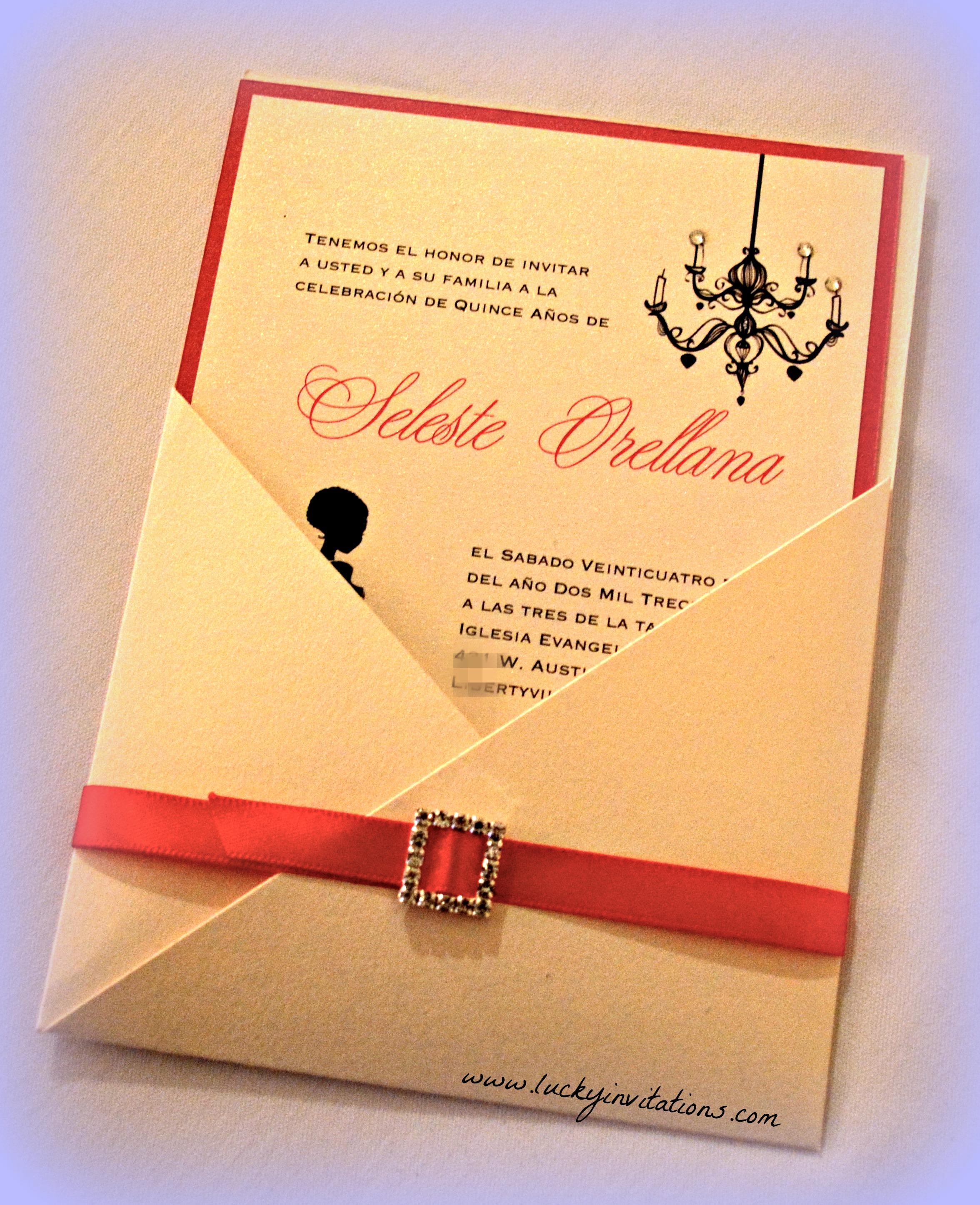 Quinceanera Invitations is great invitations sample