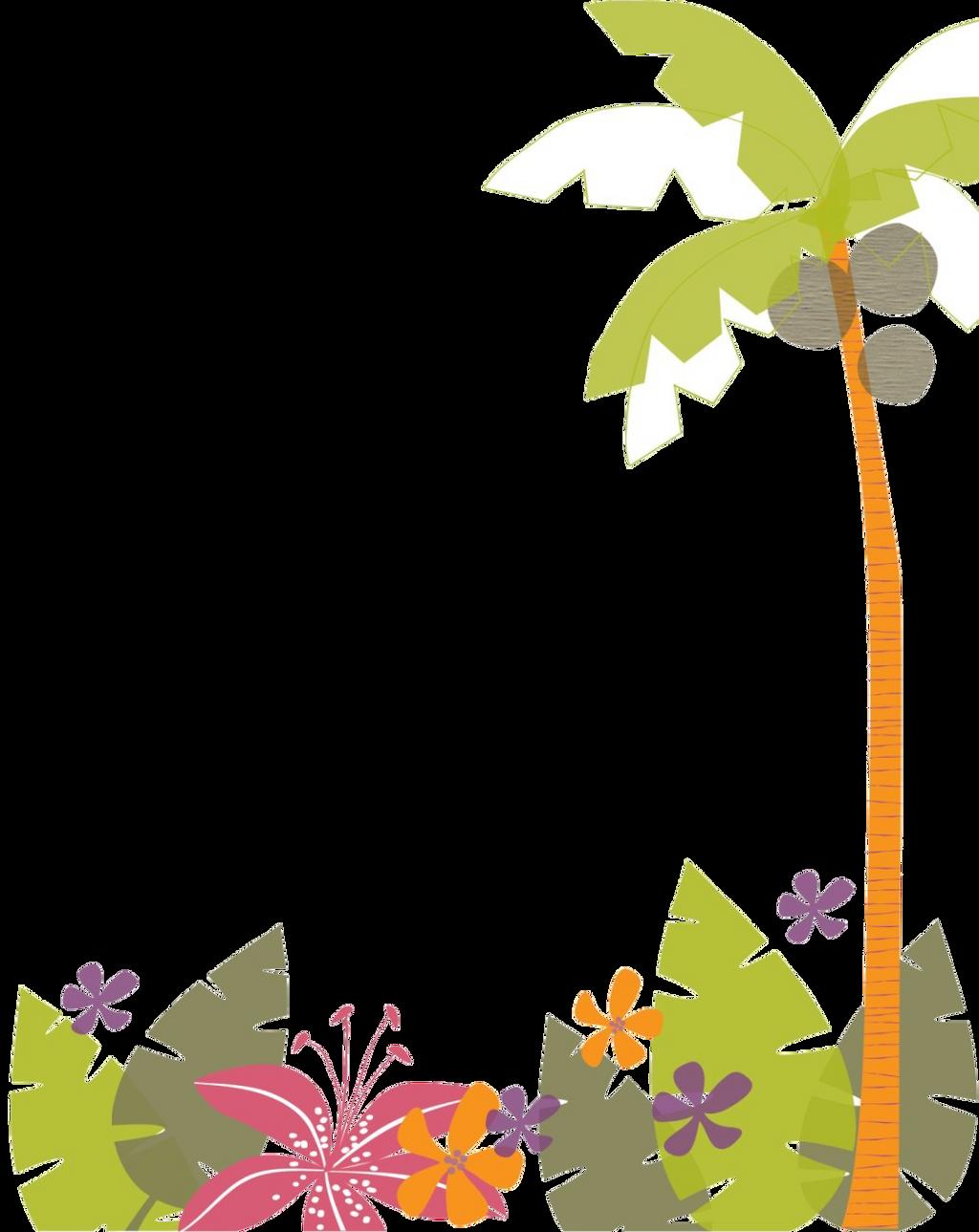 Hawaiian Border Clip Art Joy Studio Design Gallery