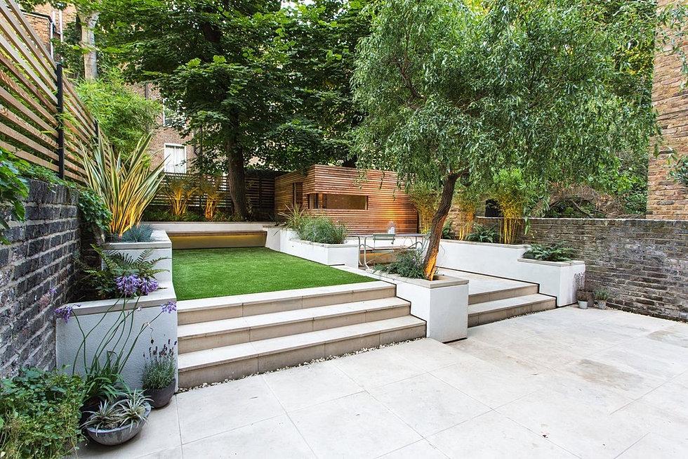 Sangwyn landcapes landscaping london garden design london for Garden design job vacancies london