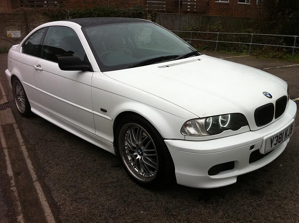 Dino Tints, the specialists in Mobile Window Tinting  BMW E46