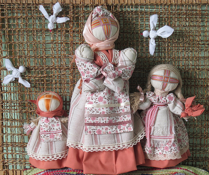 Видео мастер класс кукла мотанка