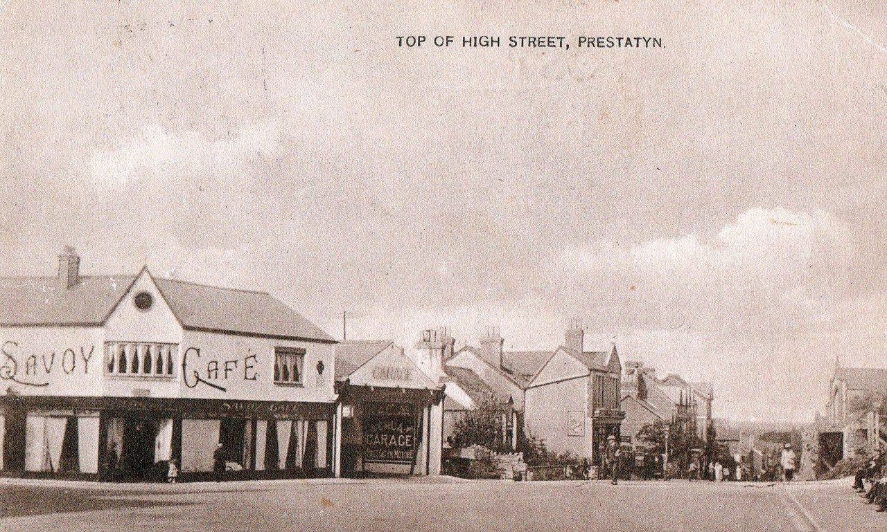 Top Of High Street - 1925