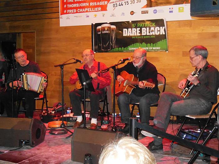 Affiche Concert musique irlandaise à la fête de la musique à Labruère
