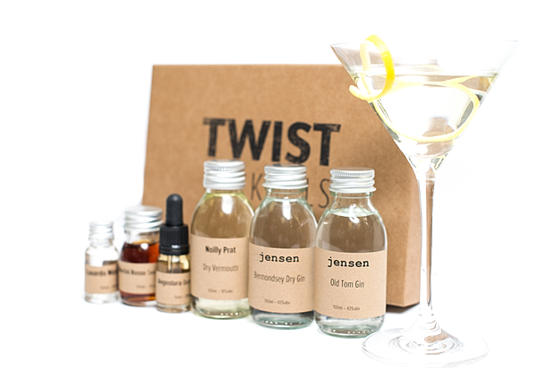 Twist Cocktail Boxes
