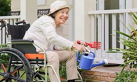 Valir PACE senior gardening