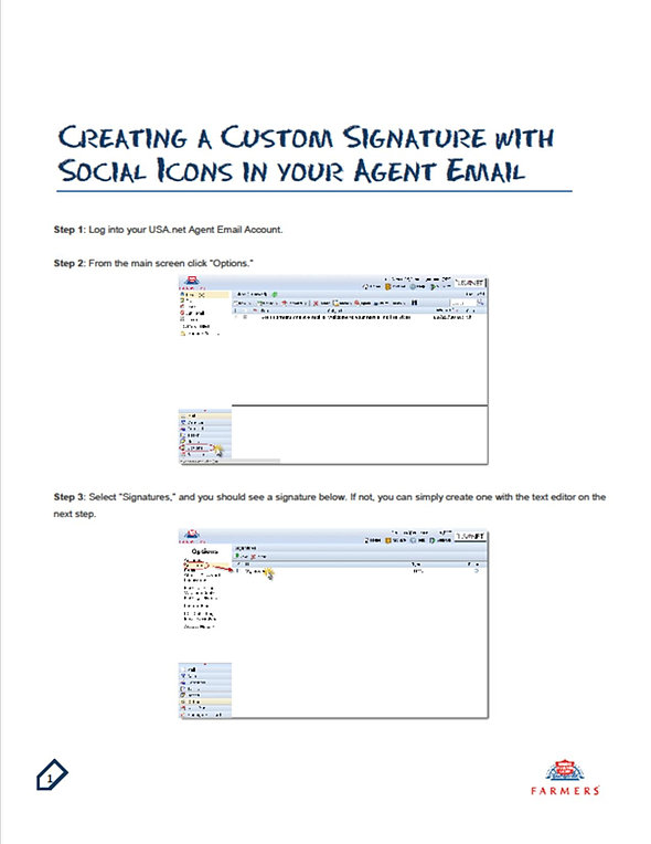 how to get a custom email
