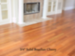 Solid Brazilian Cherry Floors