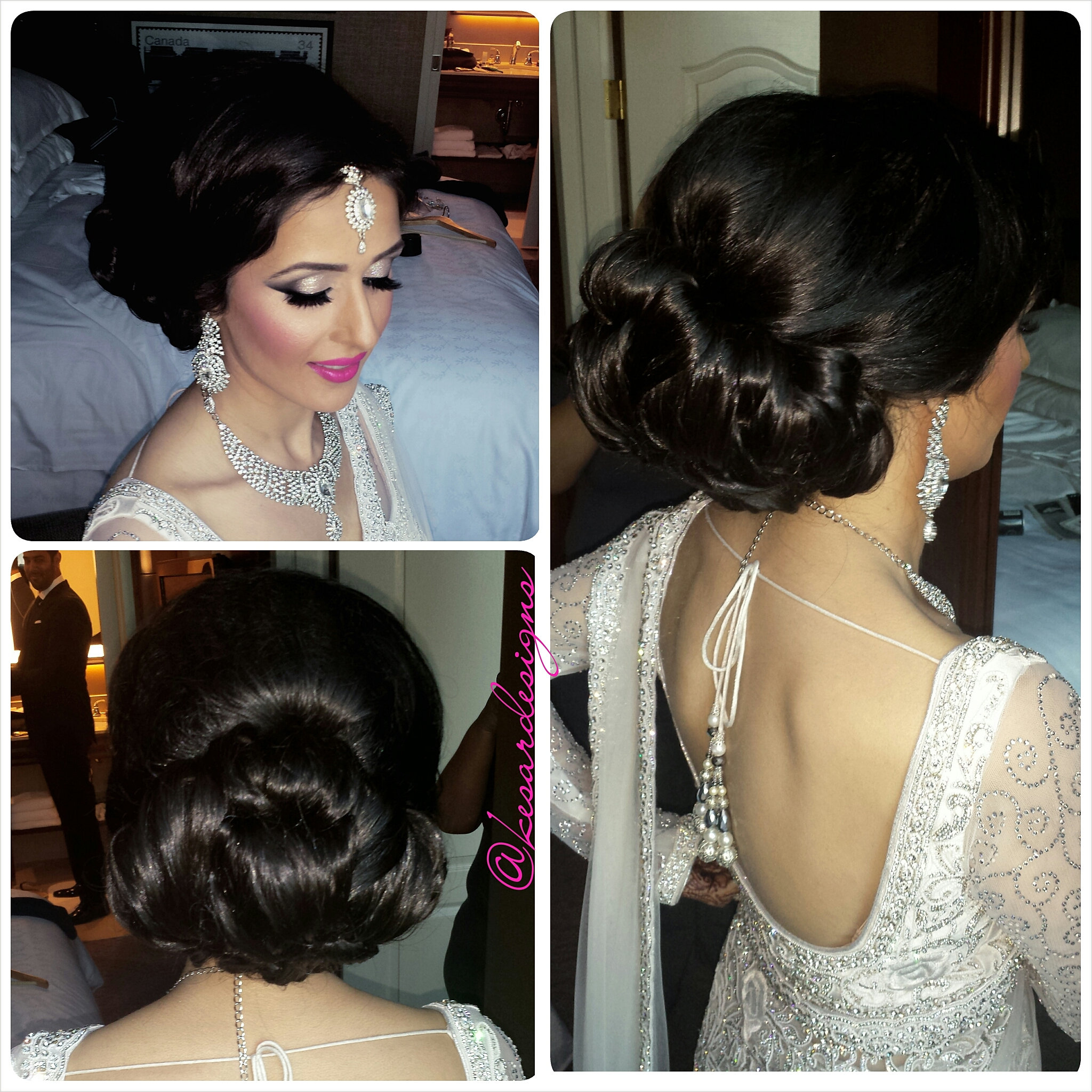 Kesar Designs Indian Bridal Makeup Artist Calgary