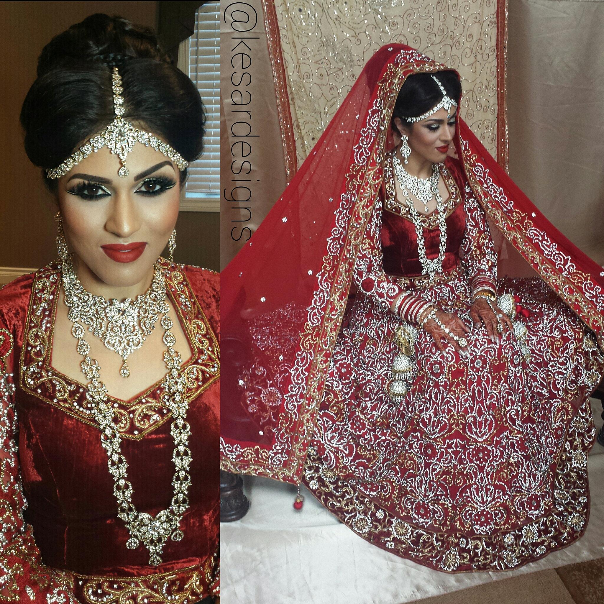 Kesar Designs Indian Bridal Makeup Artist Calgary